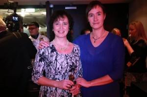 Ingrid Arro ja Kadri Kelner